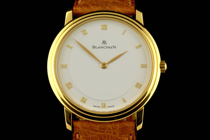 Blancpain - N.O.S Ultra Slim Automatic Yellow Gold - 18K - Uomo - 2000-2010