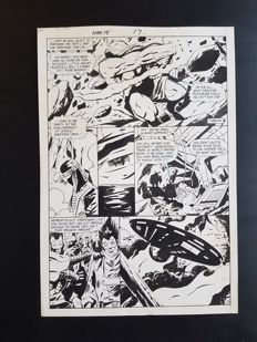 Keith Giffen - Original Art Page - Hex #15 - Page 17 - (1986)