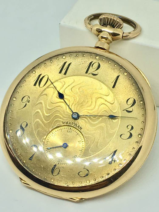 Waltham - pocket watch   -  8237-100733 - Men - 1901 - 1949