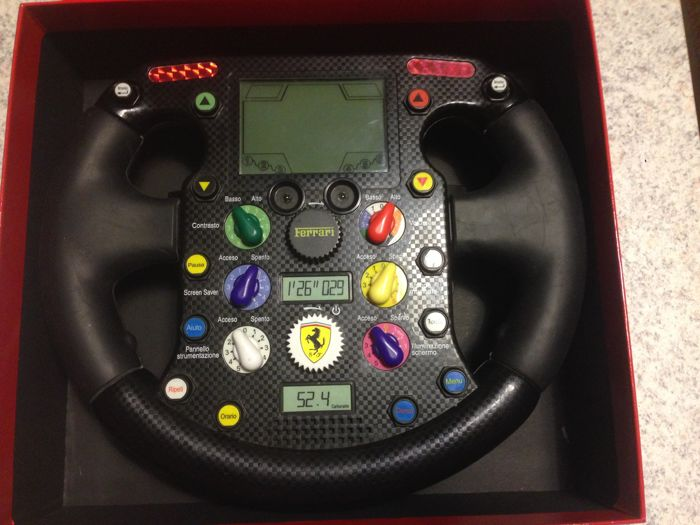 FERRARI Oregon Scentific steering wheel - FERRARI OFFICIAL