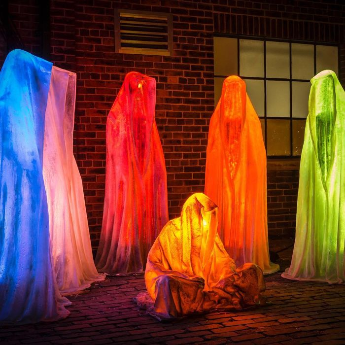 Manfred Kielnhofer - Light Guardians of Time - 6 sculptures