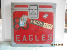 the Eagles & related  ''lot of 11 albums   incl 1 double album & 1  maxi single ''