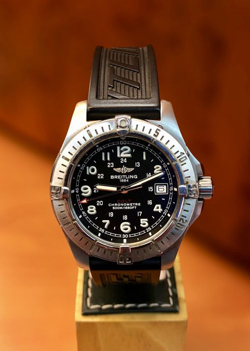 Breitling - Colt Super Quartz 500 M Chronometer.  - A74380 - Heren - 2000-2010