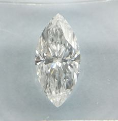 1.19 ct Marquise cut diamond D SI2 *** Low Reserve ***