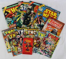 Collection of Marvel Comics & Specials - Star Wars + Thor + Doctor Strange - 12x sc - 1st edition (1967/1980)