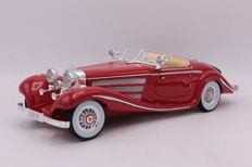 Maisto - Scale 1/18 - Mercedes 500 K - Special Roadster - 1936