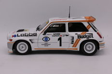 Solido - Scale 1/18 - Renault - 5 Maxi Turbo - Winner Ralley - 1996