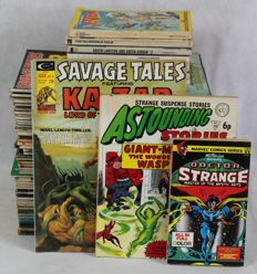 Collection of Comic & Sci-fi Magazines Including Savage Tales, 1984, The Spirit, Epic + More - 40x sc - 1st edition (1967/1983)