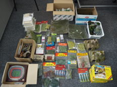 Faller, Heki, Herpa, Kibri, Noch H0 - Scenery - Large lot with all kinds of accessories