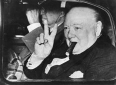 Unknown/PicaPhoto/Keystone - Winston Churchill photos, 1946