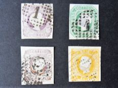 Portugal 1855/1911 - Small selection of classic stamps