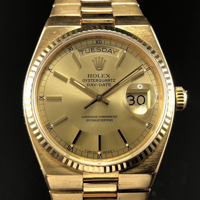 Rolex - Oysterquartz Day-Date - 19018 - Homme - 1980-1989
