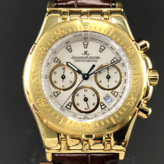 Jaeger-LeCoultre - Kryos Chronograph Tachymetre White Dial  - Ref. 305.7.31 - Homme - 1990-1999