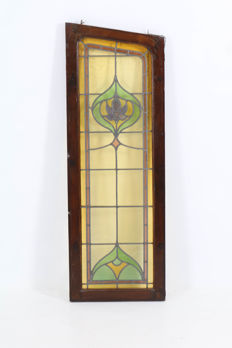 Art Nouveau - stained glass window