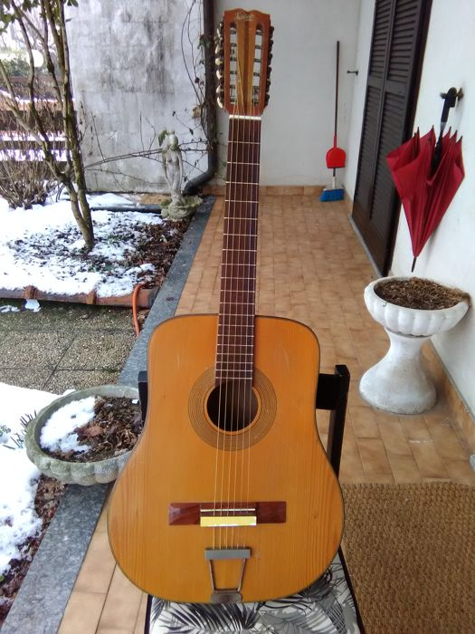 indelicato catania guitar popular brand 12 strings 1950s 60s catawiki. Black Bedroom Furniture Sets. Home Design Ideas