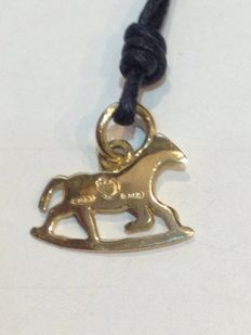Dodo rocking horse pendant in 18 kt yellow gold Pomellato - 12 x 15 mm