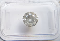 1.60 ct - Natural White Diamond - I Color I2 * NO RESERVE *