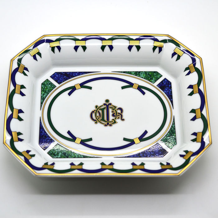 Cristian Dior pocket emptier tray in Limoges porcelain - Catawiki
