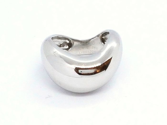 Fred - Ring - 'Mouvementé' - 18 kt white gold - Size 52