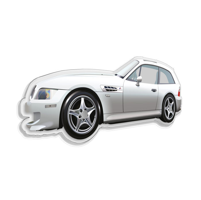 SL - Halmo Collection BMW M coupe plexiglass model