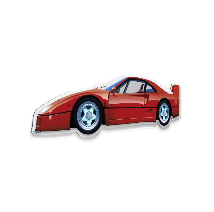 SXL - Halmo Collection - Ferrari F40 plexiglass model