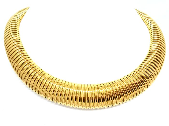 Necklace - 18 kt yellow gold - size 45 cm