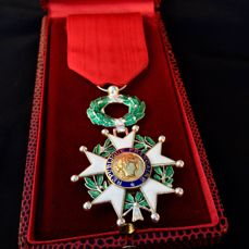 French highest Order, Knight of the Legion d'honneur, Very rare 29 FLOREAL AN X variant!