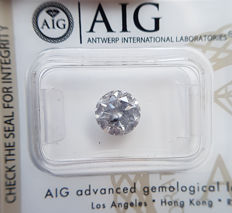2.02 ct - Natural White Diamond - F Color I2 * NO RESERVE *