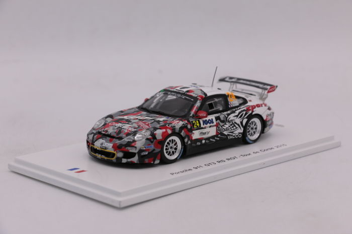 Spark - Scale 1/43 - Porsche 911 GT3 RS - Tour de Corse - 2015 - Limited Edition