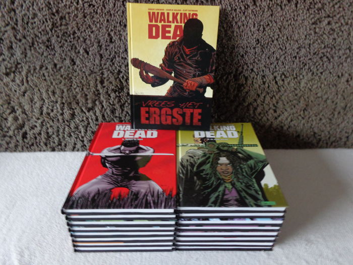 Walking Dead 1 t/m 17 - hc - 1e druk - (2010/2013)