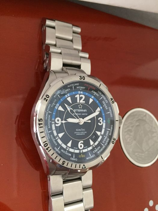 Eterna - Kontiki GMT worldtimer - Heren - 2000-2010