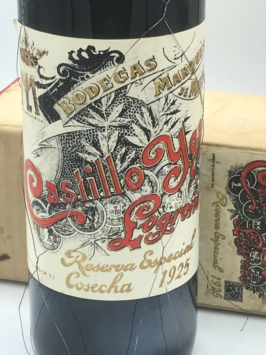 1925 Marques de Murrieta Castillo Ygay Reserva Especia - 1 bottle
