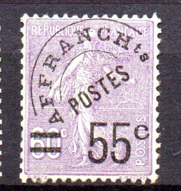 France 1922/1959 - Selection of pre-cancelled stamps - Between Yvert no. 39 and 118