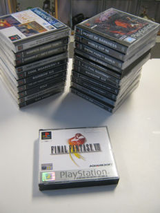 21 Playstation 1 games,some are rare. games like: Final fantasy VIII + Alone in the dark + Hearth off darkness and more