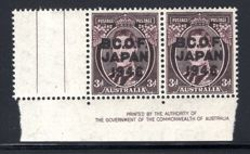 British Commonwealth - Occupation Force 1946, Overprint Selection