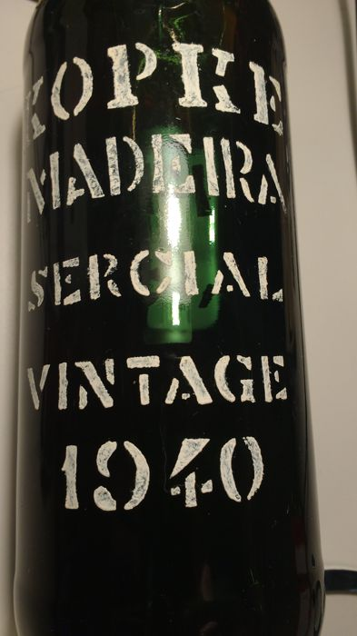 1940 Madeira Sercial Kopke - Portugal - bottled in 1998 - 1 bottle