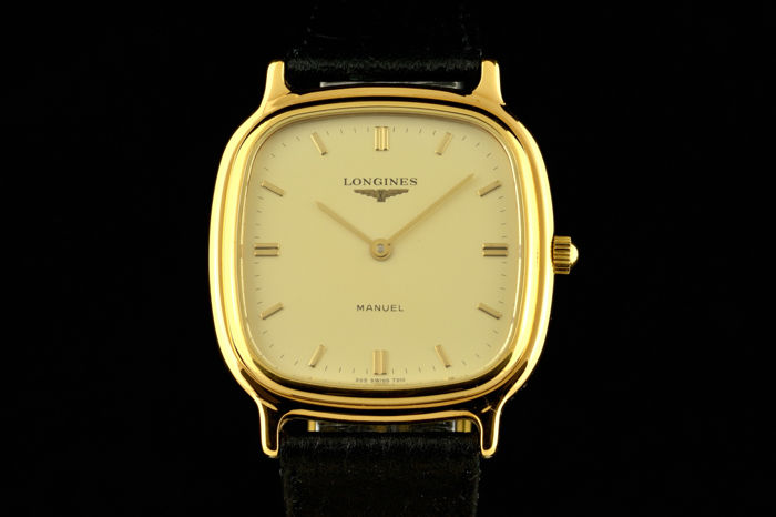 Longines - Manuel Gold Stainless Steel N.O.S - Heren - 1980-1989