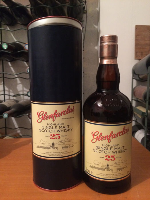 Glenfarclas 25 years old - Original bottling - 700ml - 43%