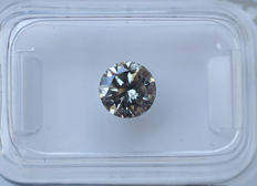 1.10 ct - Natural White Diamond - K Color - SI2 * NO RESERVE *