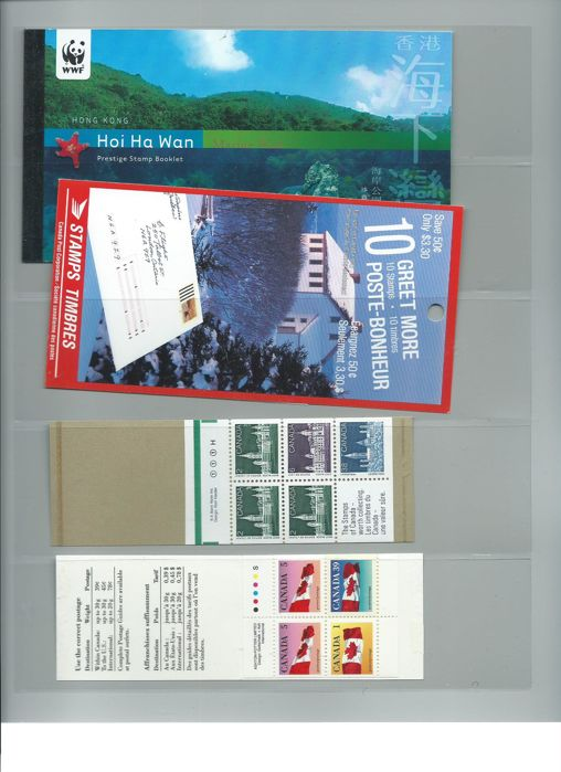 World - Collection of stamp booklets.