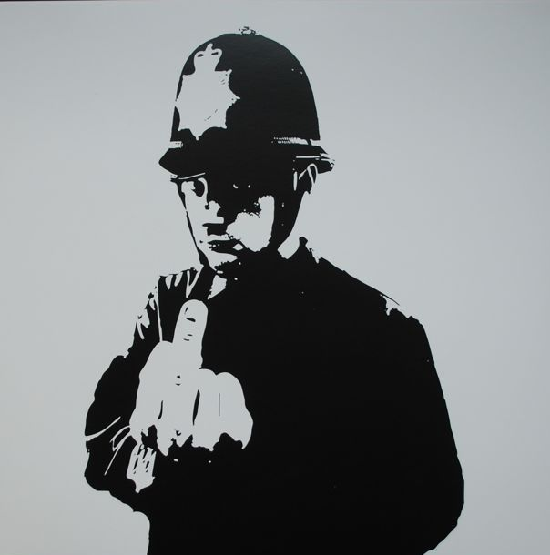 Banksy x Boys in Blue - Funk Tha Police