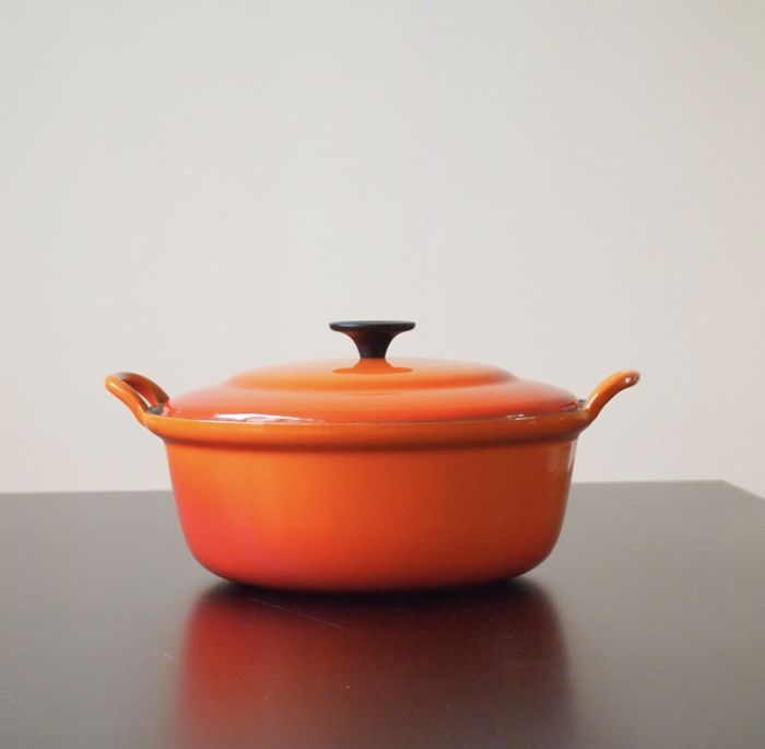 Le Creuset classic frying pan 28 cm in new condition!