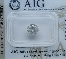 1.38 ct - Natural White Diamond - H Color I2 * NO RESERVE *