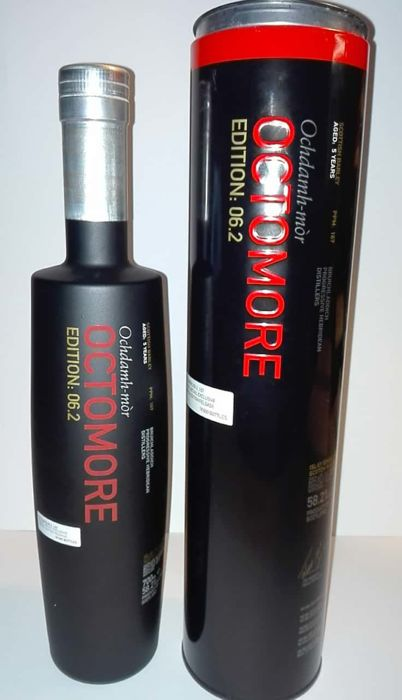 Octomore 5 years old Scottish Barley Edition 06.2