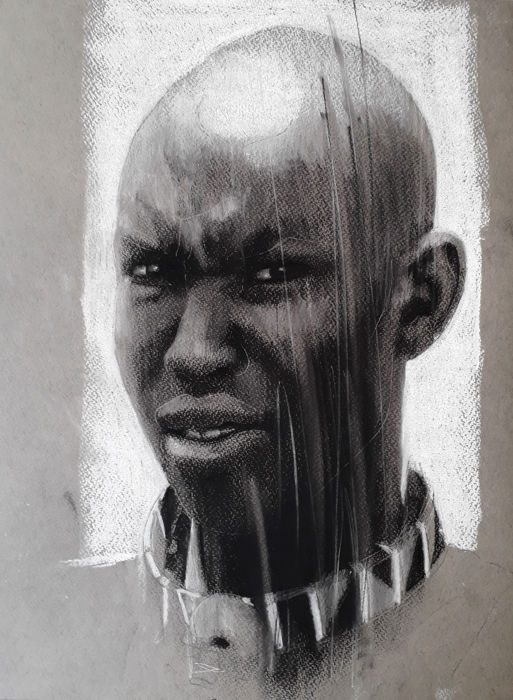 Matt Lambert - Masai warrior study