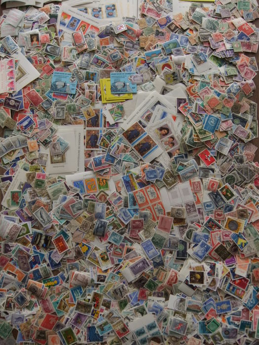 Luxembourg - batch of over 5,000 separate stamps