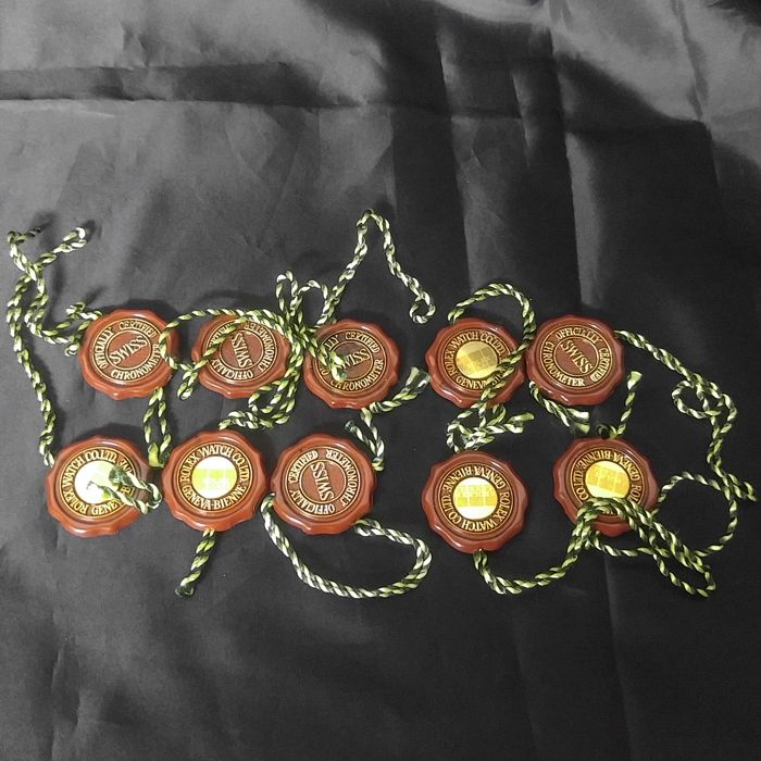 Rolex red tag lot of x10