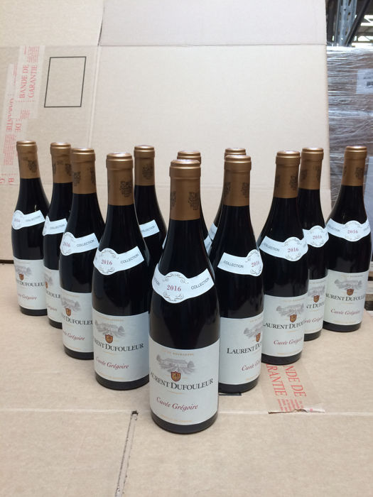 "2016 Bourgogne ""Grégoire"", red Burgundy AOC from Laurent Dufouleur x 12 bottles"