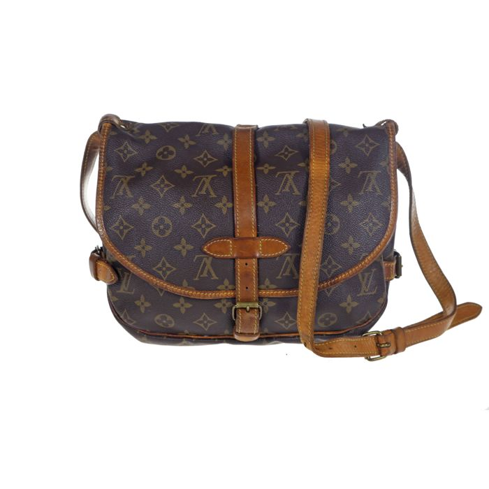 24b0c689ad3 Louis Vuitton - Monogram Saumur 30 Crossbody Bag -  No Minimum Price