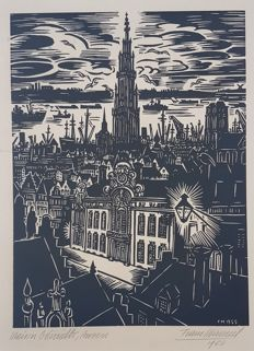Frans Masereel  - Maison Osterrieth, Anvers